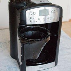 BEEM Fresh Aroma Perfect V2 schwenkbares Filterfach geöffnet