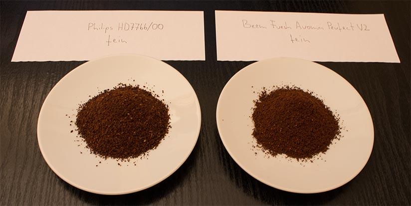 Gemahlene Kaffeebohnen Vergleich
