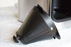 Philips HD7766/00 Filterkorb Tropfschutz