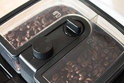 Philips HD7766/00 Kaffeebohnenbehälter Einstellungen