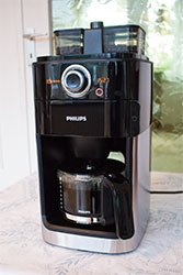 philips hd7766 00 kaffeemaschine mit mahlwerk im test. Black Bedroom Furniture Sets. Home Design Ideas