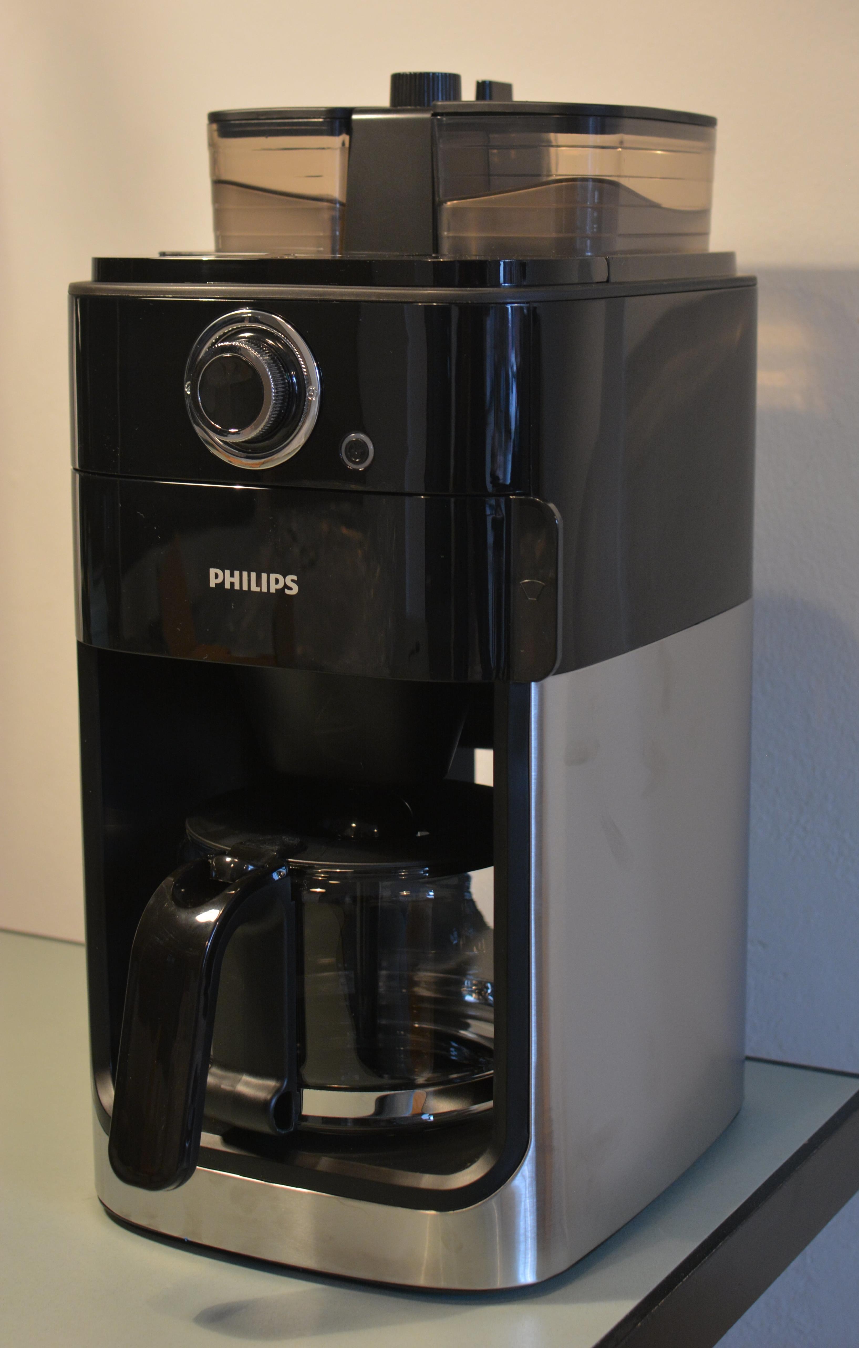 Philips Grind&Brew HD7769 Kaffemaschine mit Mahlwerk